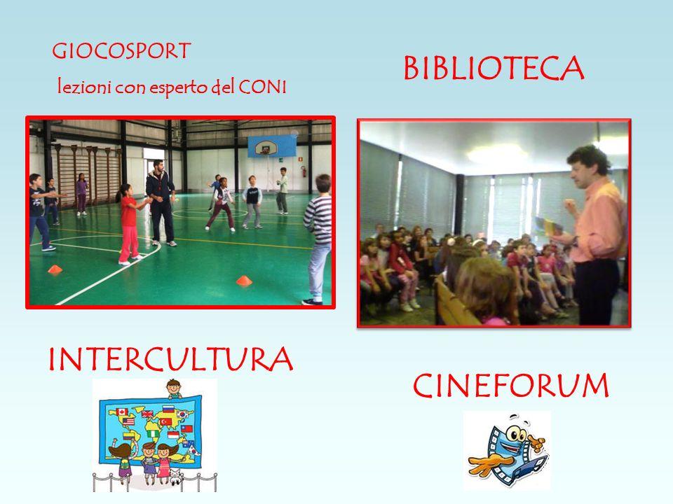 BIBLIOTECA INTERCULTURA CINEFORUM GIOCOSPORT