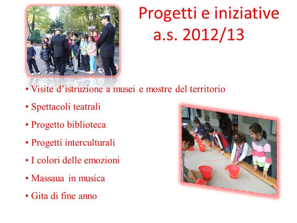 Progetti e iniziative a.s. 2012/13