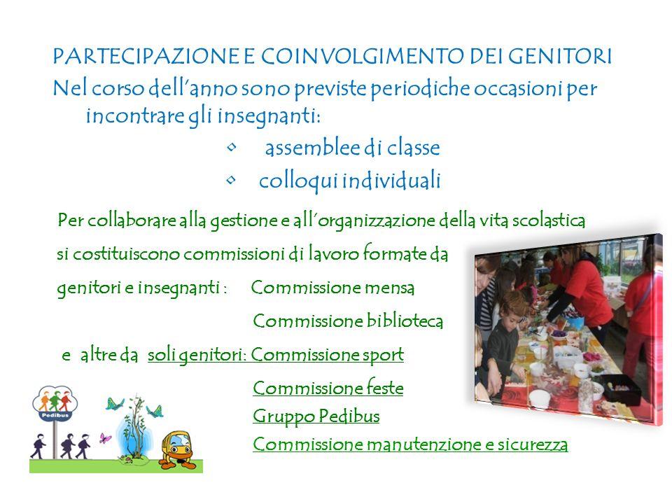 PARTECIPAZIONE E COINVOLGIMENTO DEI GENITORI