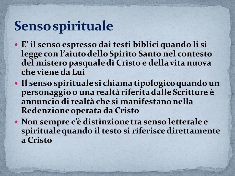 Senso spirituale