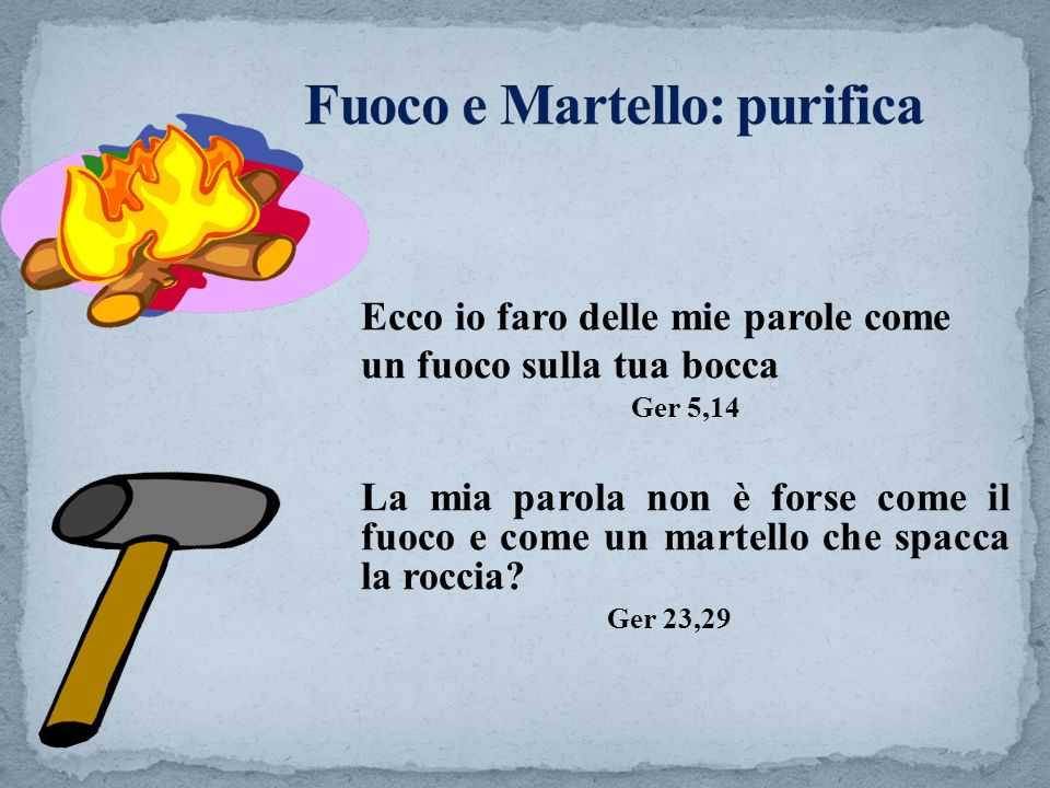 Fuoco e Martello: purifica