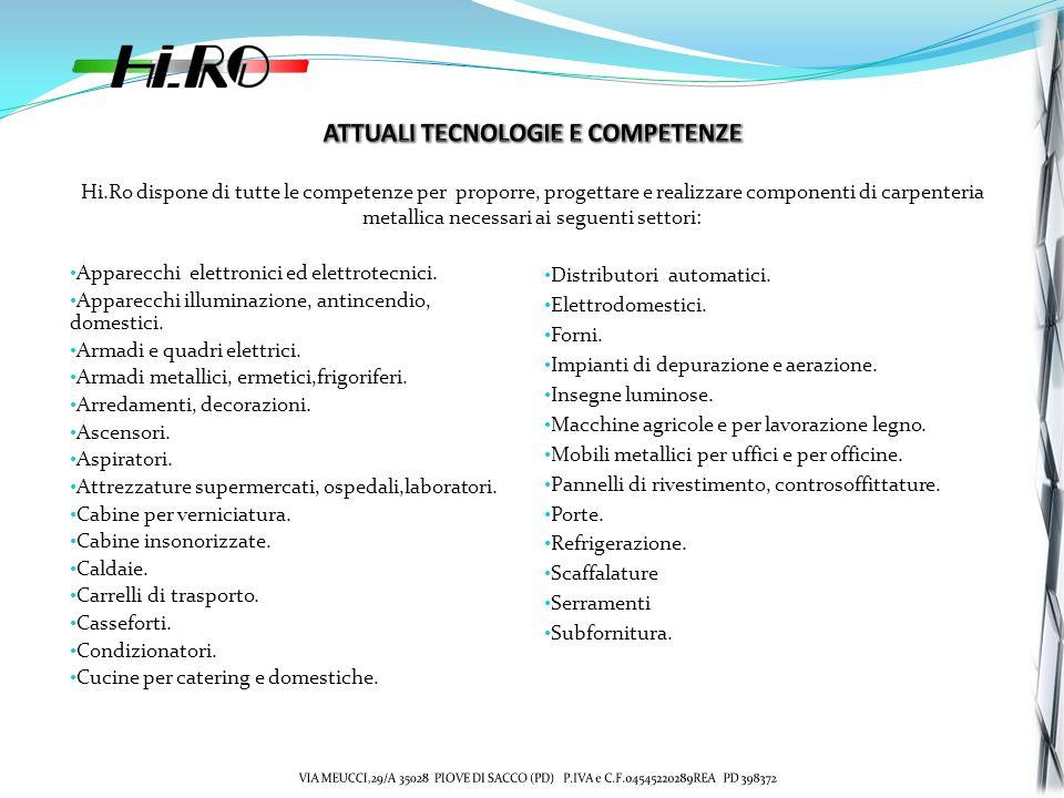 ATTUALI TECNOLOGIE E COMPETENZE