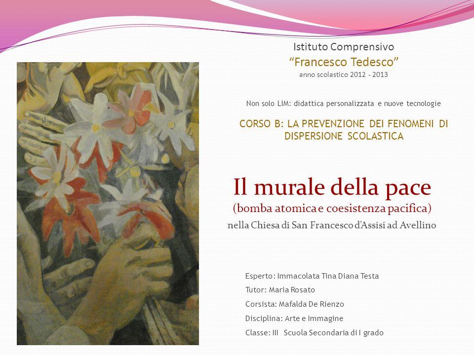Il murale della pace Francesco Tedesco Istituto Comprensivo