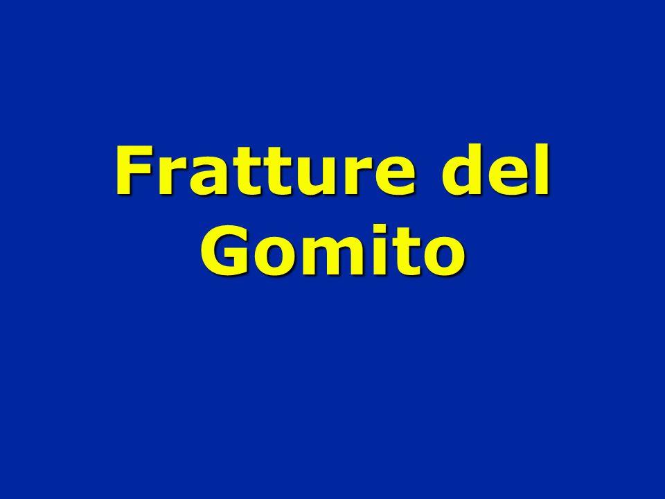 Fratture del Gomito