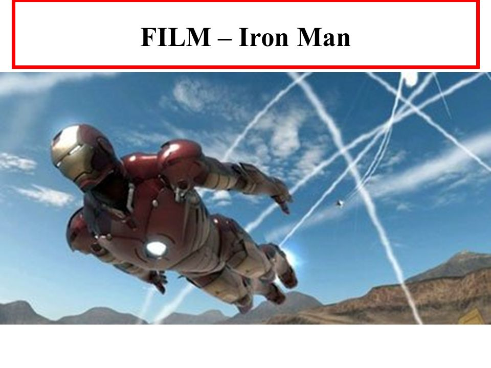 FILM – Iron Man