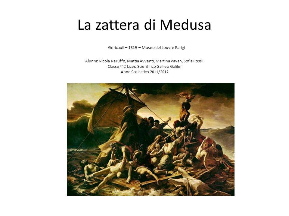 La zattera di Medusa Gericault – 1819 – Museo del Louvre Parigi Alunni: Nicola Peruffo, Mattia Avventi, Martina Pavan, Sofia Rossi.