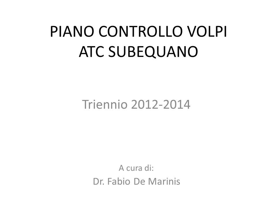 PIANO CONTROLLO VOLPI ATC SUBEQUANO
