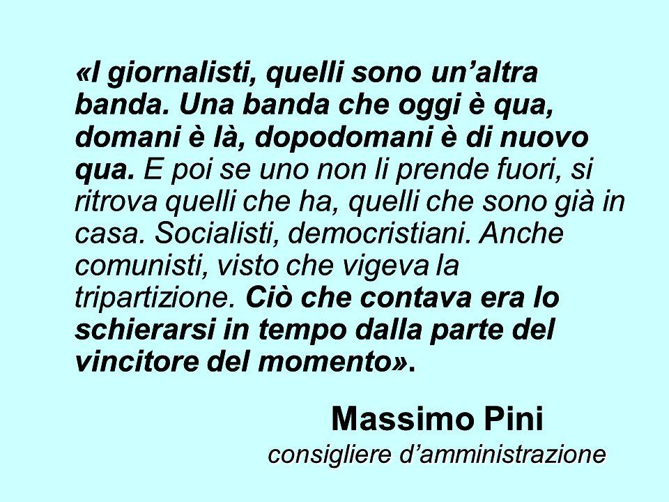 Massimo Pini consigliere d'amministrazione