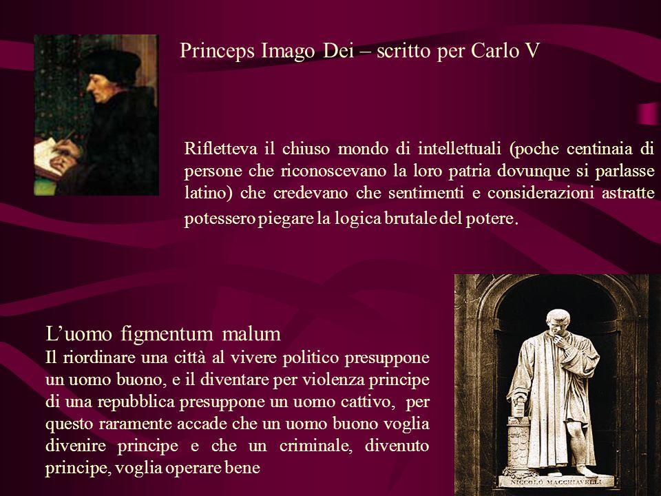 Princeps Imago Dei – scritto per Carlo V