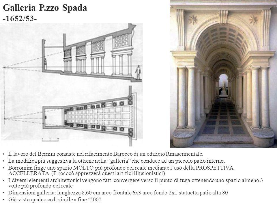 Galleria P.zzo Spada -1652/53-