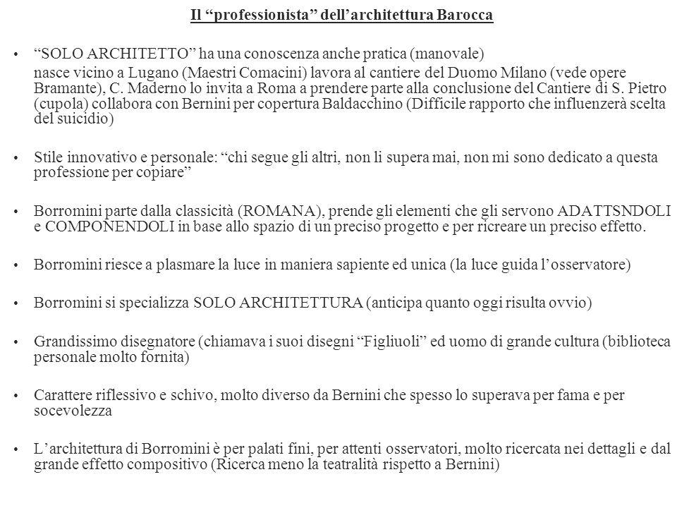 Il professionista dell'architettura Barocca