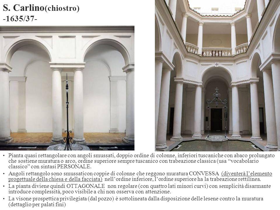 S. Carlino(chiostro) -1635/37-