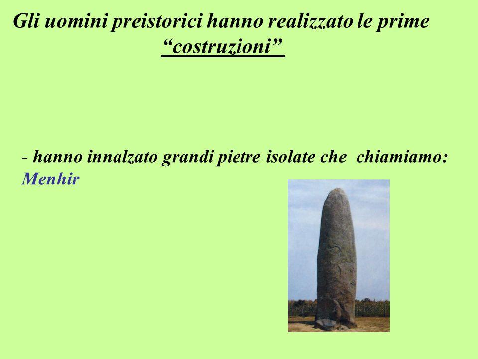Gli uomini preistorici hanno realizzato le prime