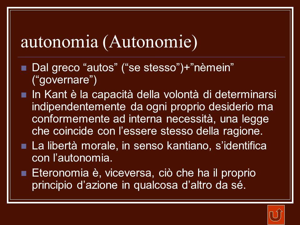 autonomia (Autonomie)