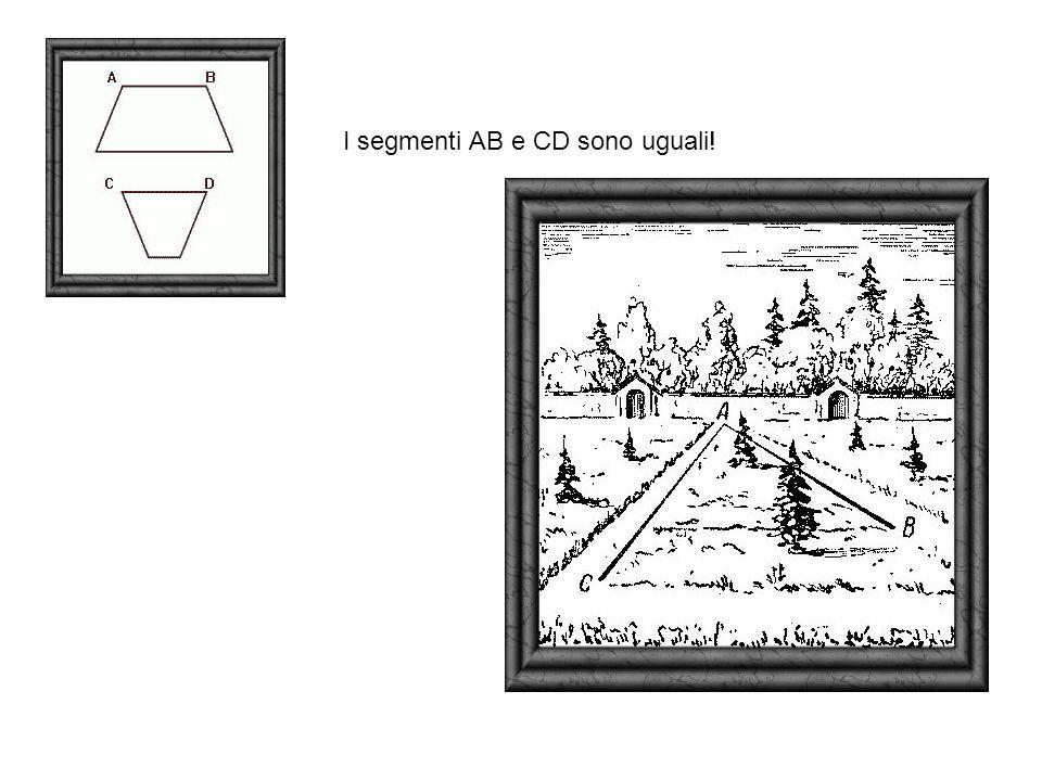 I segmenti AB e CD sono uguali!