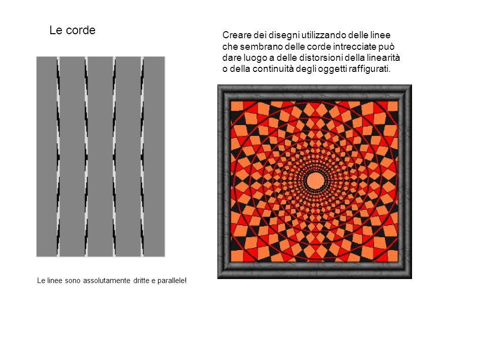 Le corde Creare dei disegni utilizzando delle linee