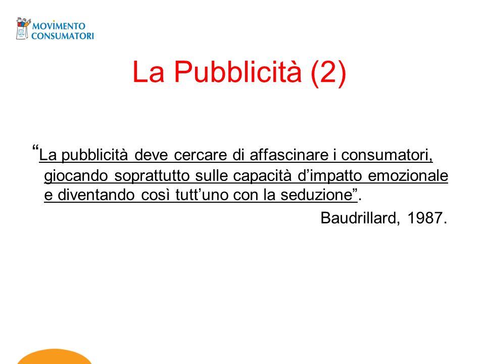 La Pubblicità (2)