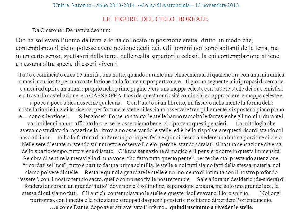 LE FIGURE DEL CIELO BOREALE