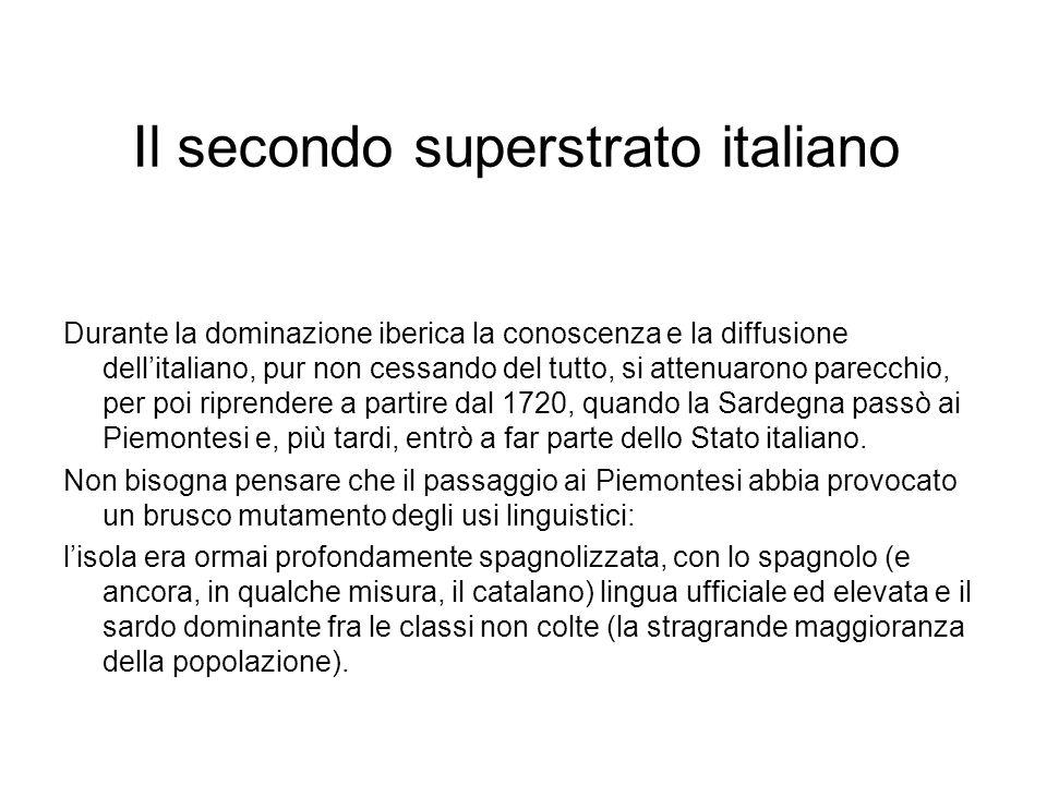 Il secondo superstrato italiano