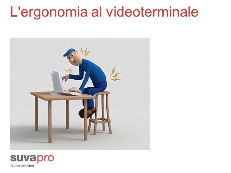 L ergonomia al videoterminale