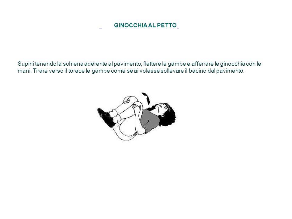 GINOCCHIA AL PETTO