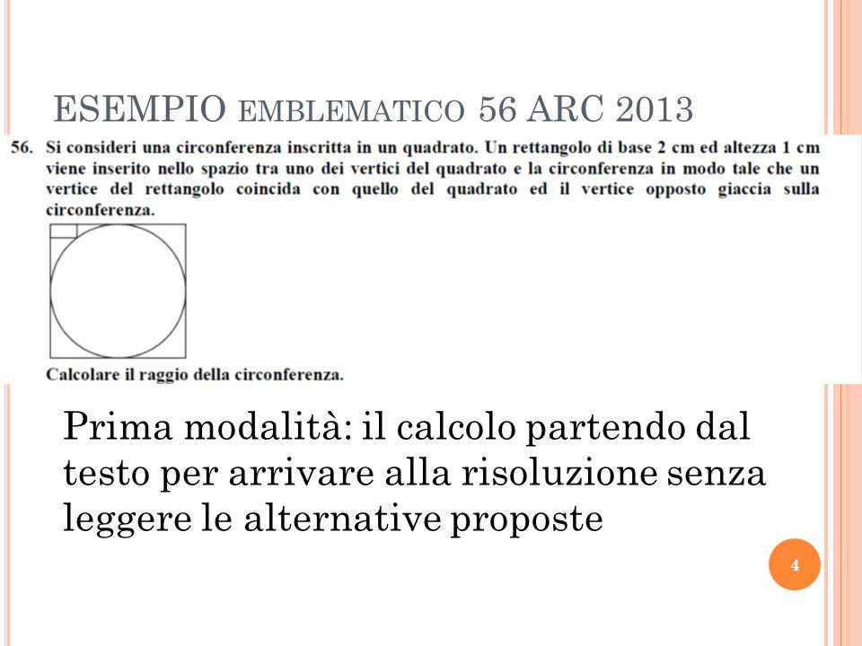 ESEMPIO emblematico 56 ARC 2013