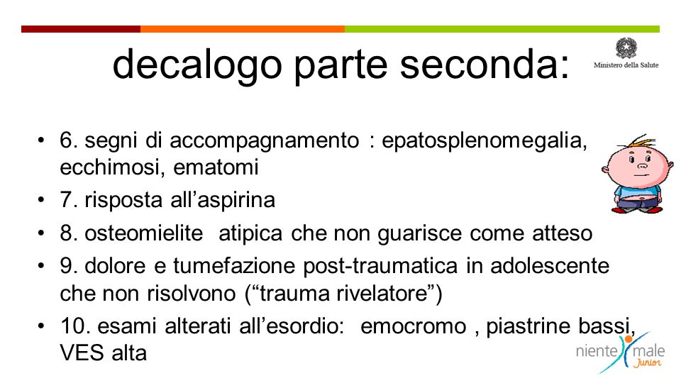 decalogo parte seconda: