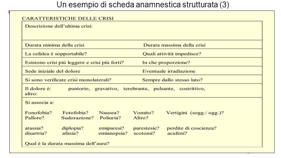 Un esempio di scheda anamnestica strutturata (3)