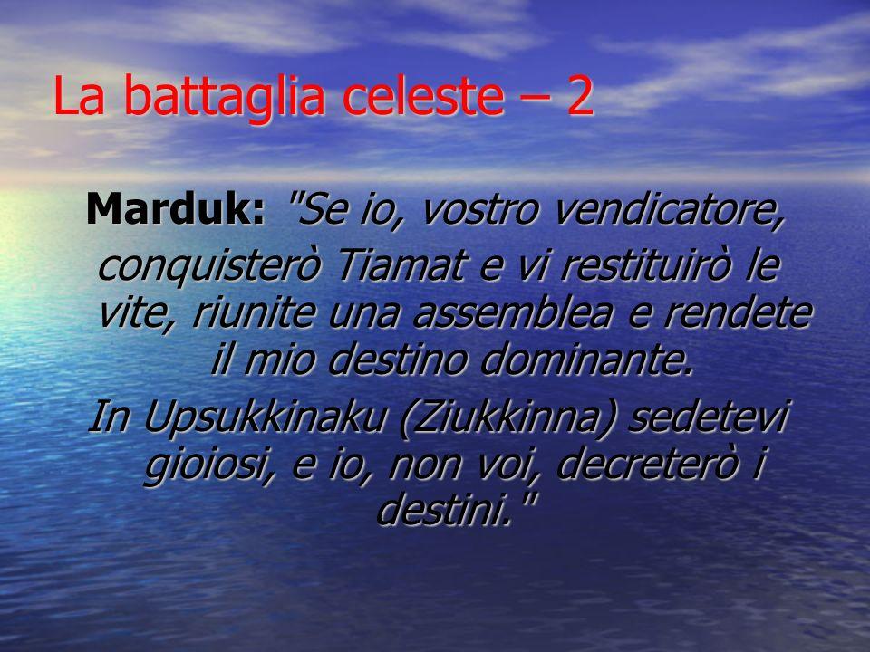 Marduk: Se io, vostro vendicatore,