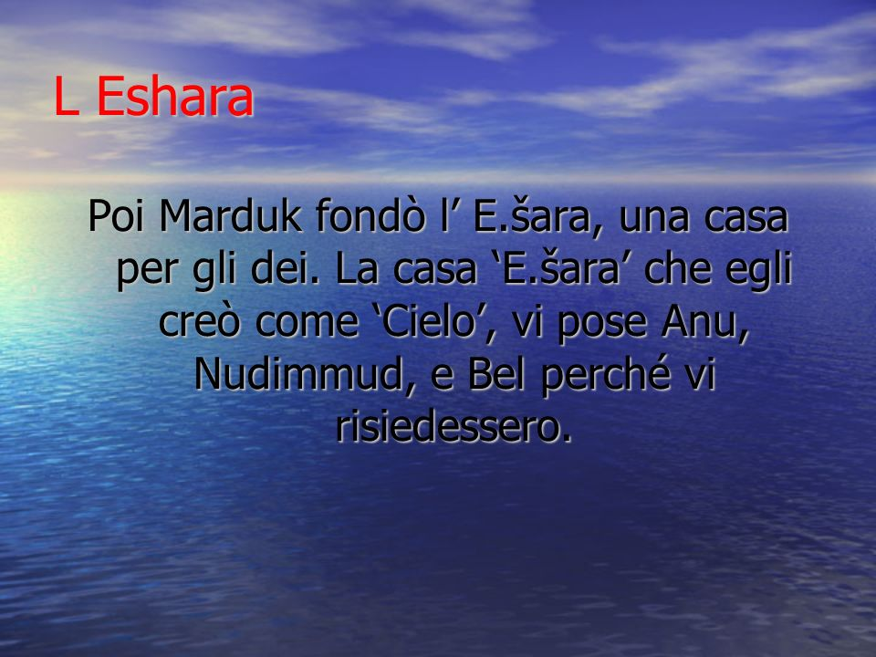 L Eshara