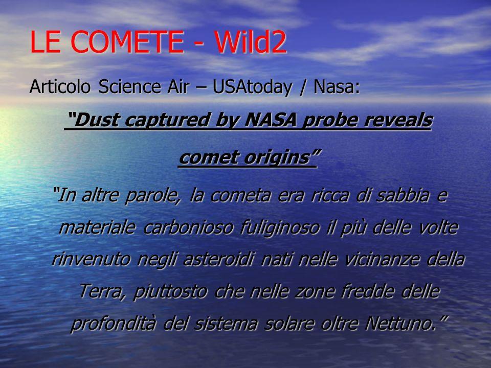 Dust captured by NASA probe reveals