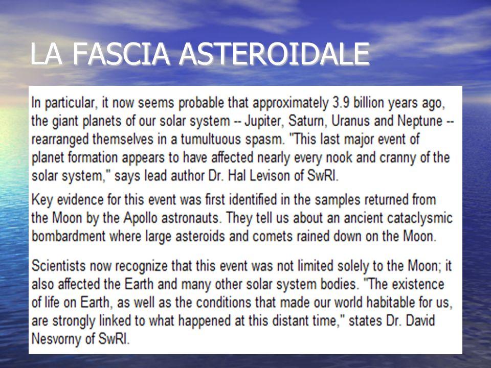 LA FASCIA ASTEROIDALE