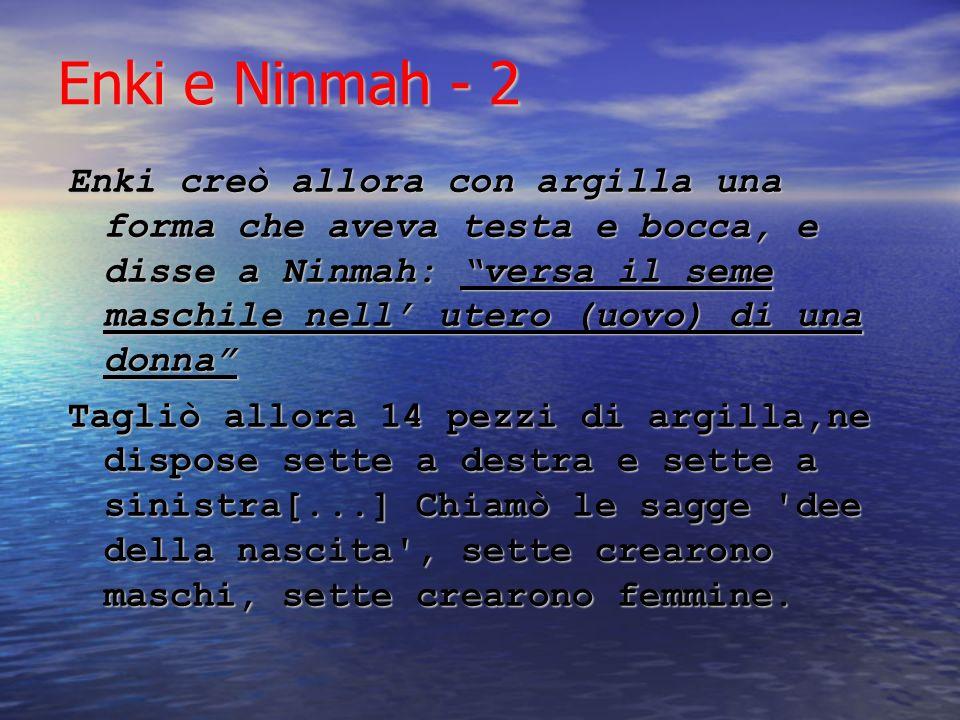 Enki e Ninmah - 2