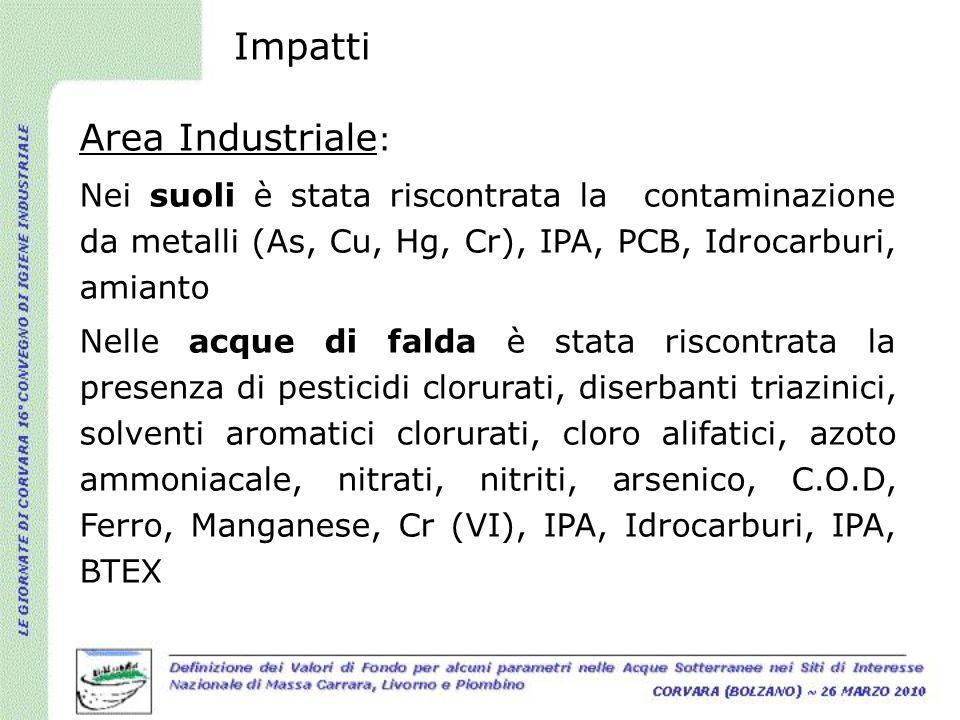 Impatti Area Industriale: