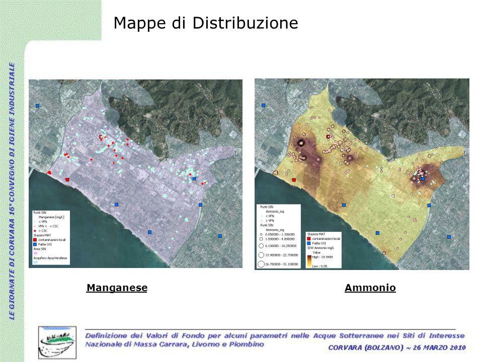 Mappe di Distribuzione