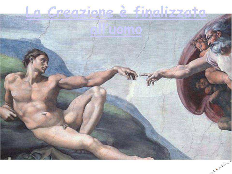 La Creazione è finalizzata all'uomo