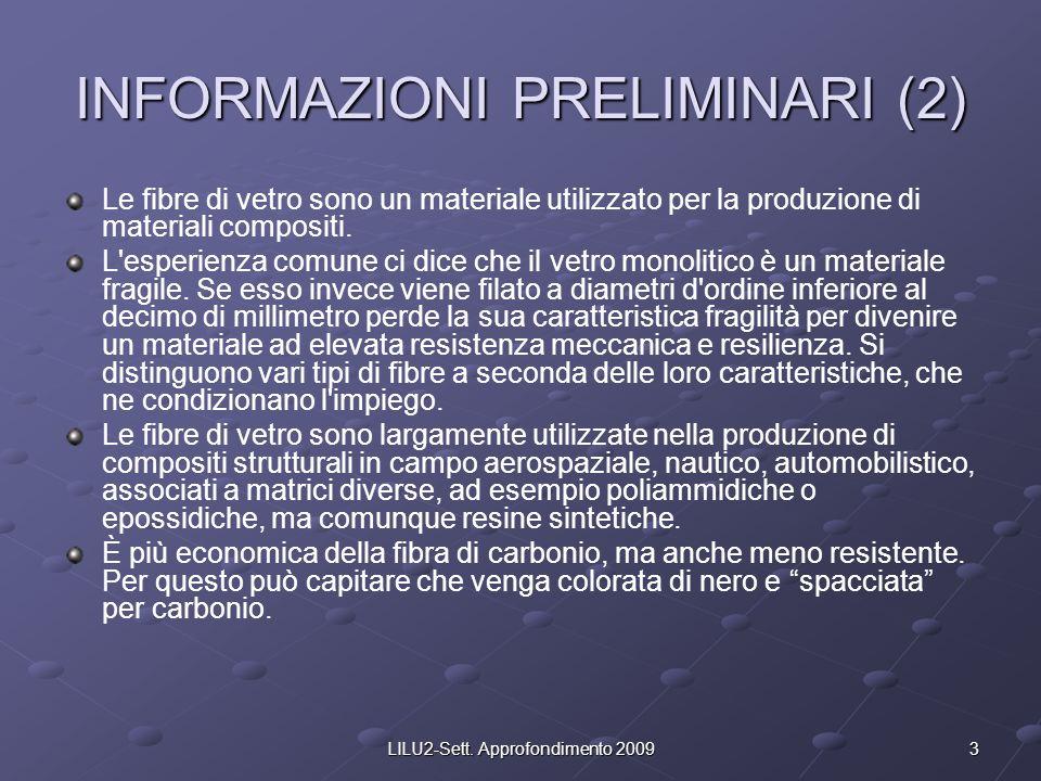 INFORMAZIONI PRELIMINARI (2)