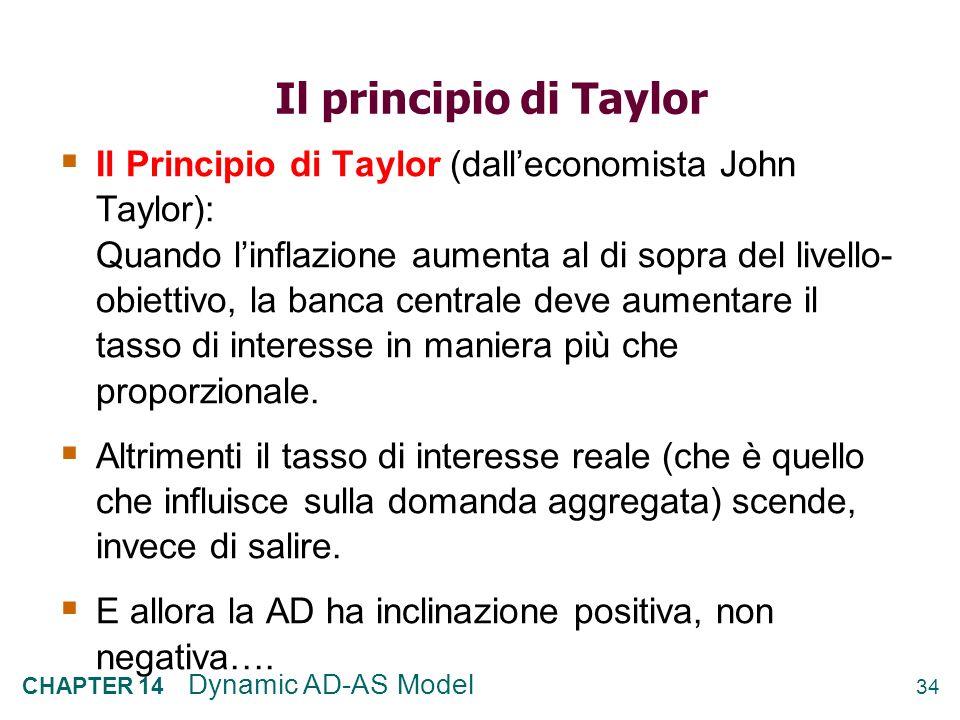 Il principio di Taylor