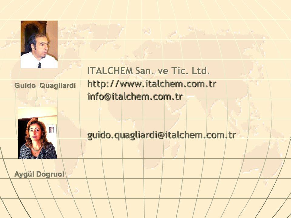 ITALCHEM San. ve Tic. Ltd. http://www.italchem.com.tr