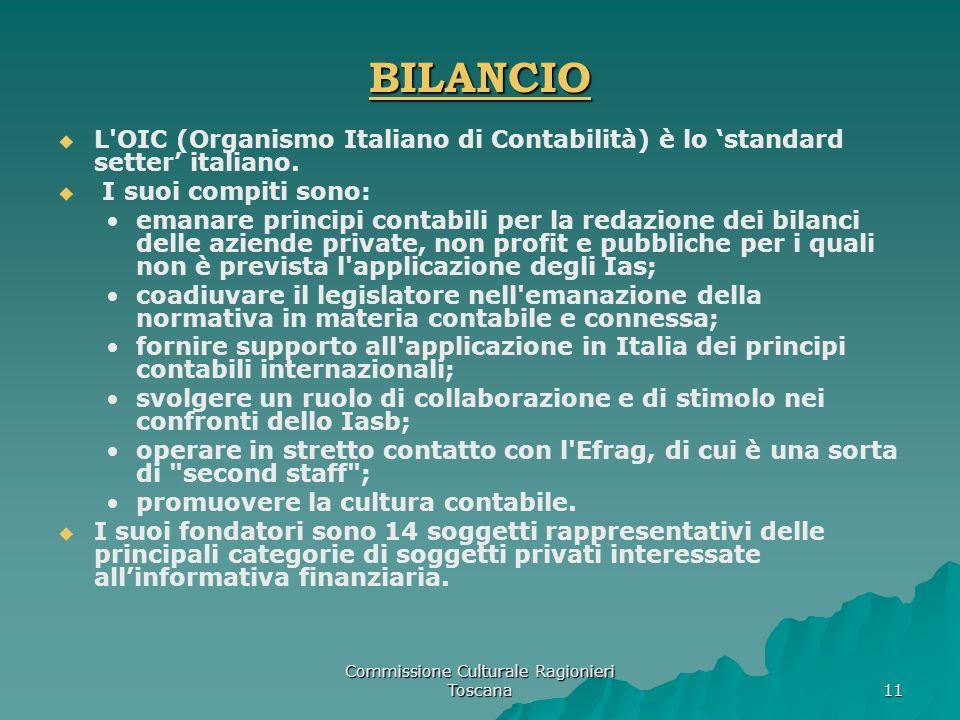 Commissione Culturale Ragionieri Toscana