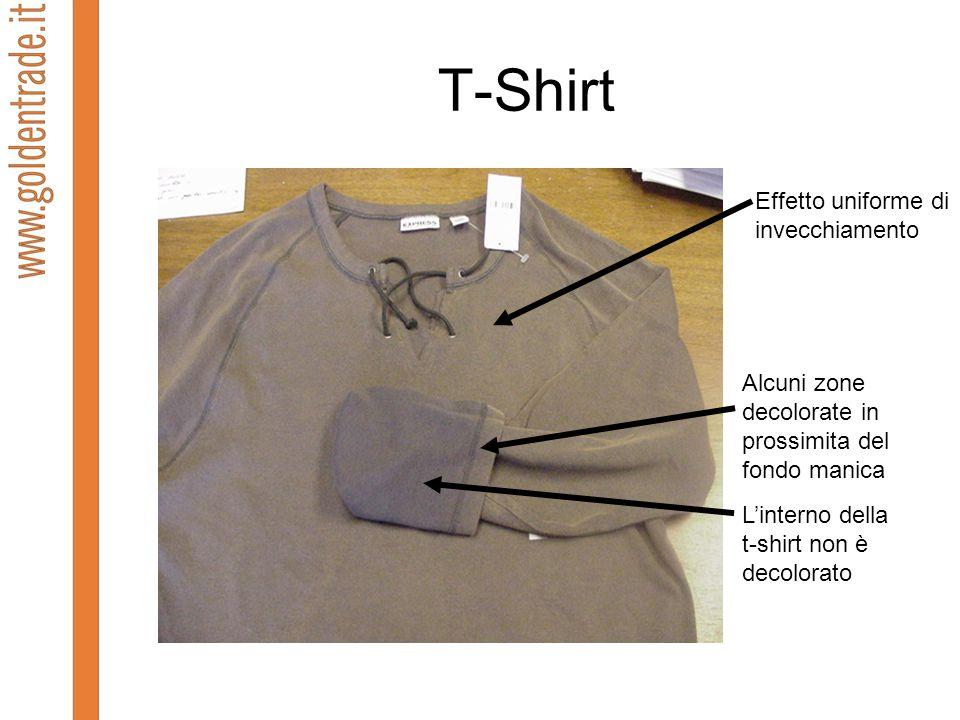 T-Shirt Effetto uniforme di invecchiamento