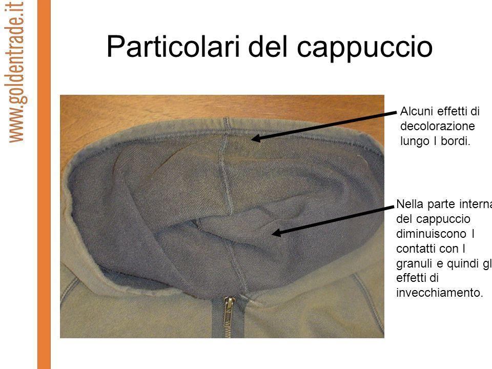 Particolari del cappuccio