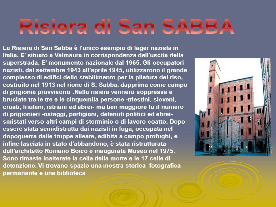 Risiera di San SABBA