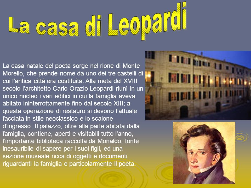 La casa di Leopardi
