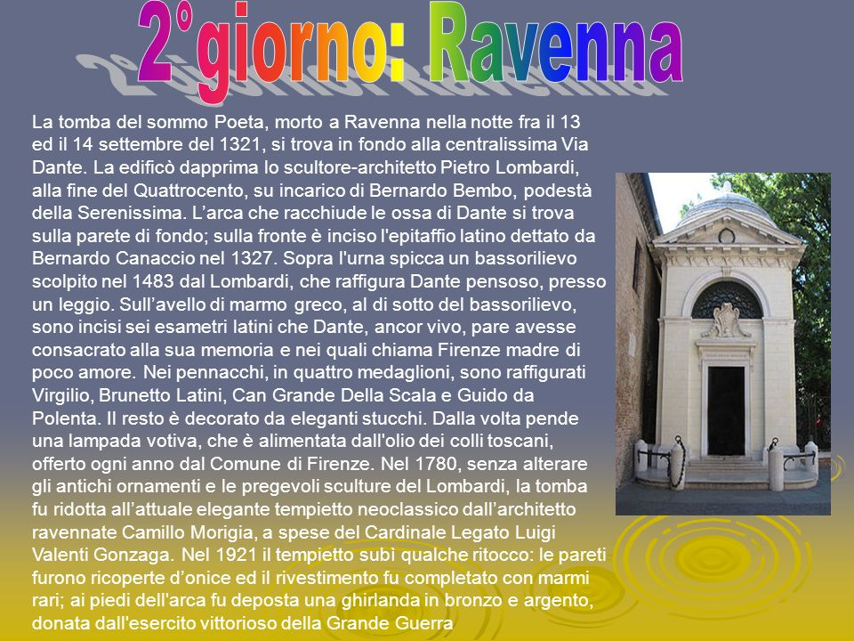 2°giorno: Ravenna