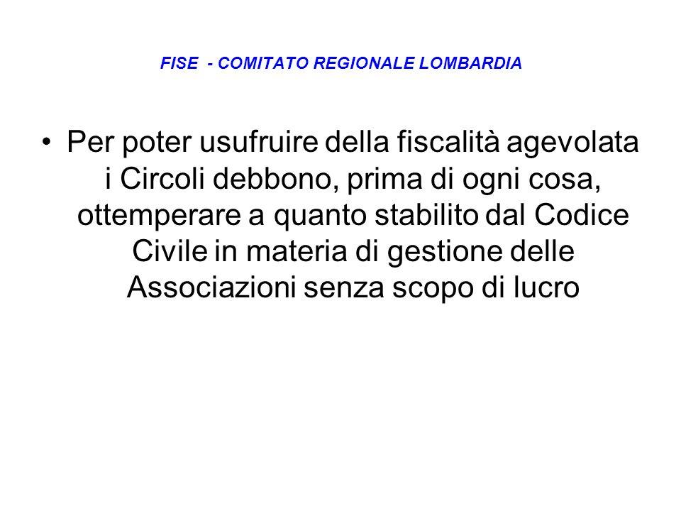 FISE - COMITATO REGIONALE LOMBARDIA