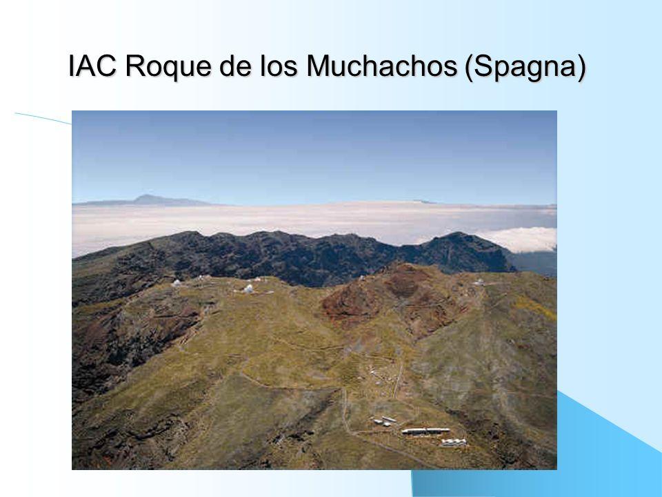 IAC Roque de los Muchachos (Spagna)