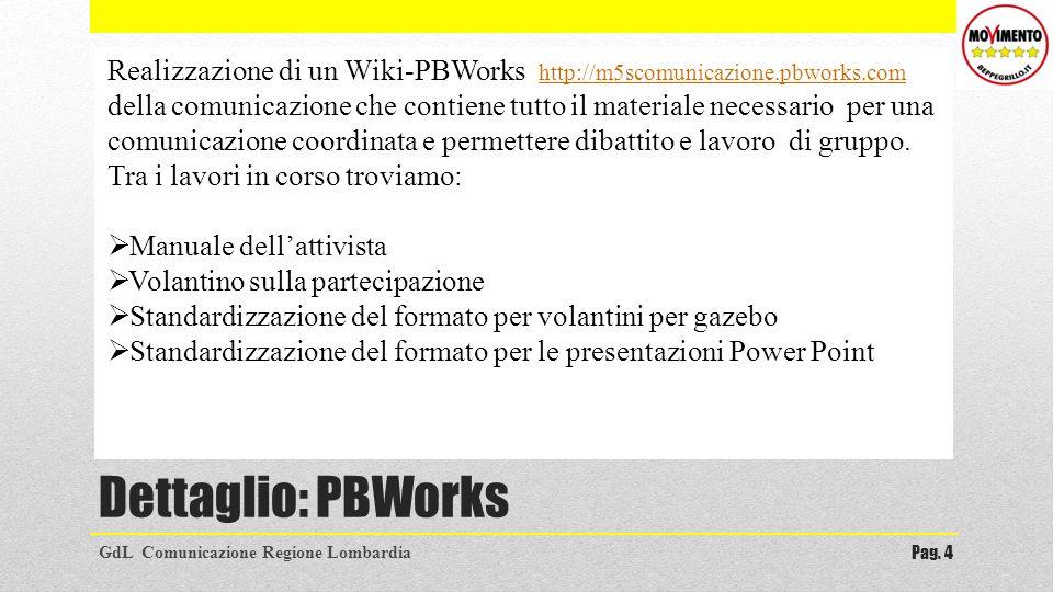 Realizzazione di un Wiki-PBWorks http://m5scomunicazione. pbworks