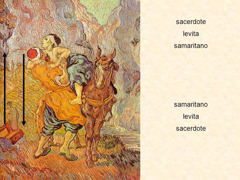 sacerdote levita samaritano samaritano levita sacerdote