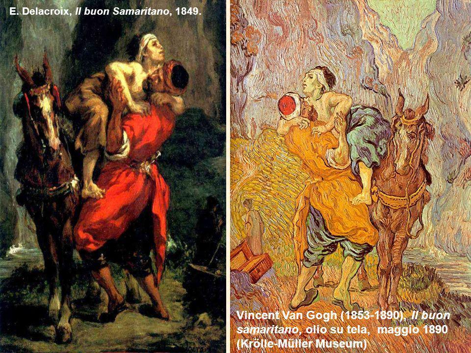E. Delacroix, Il buon Samaritano, 1849.